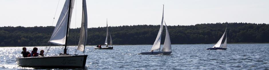 Grundkurse in der Segelschule Plau am See